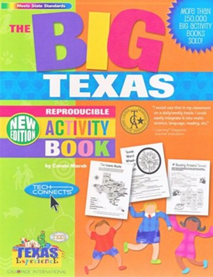 The Big Texas Activity Book  -     By: Carole Marsh