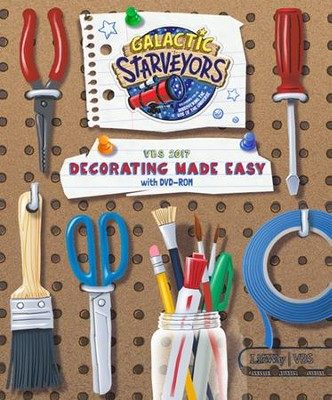 Galactic Starveyors Vbs Decorating Made Easy With Clip Art Cd
