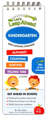 Let's Leap Ahead Kindergarten  -     By: Alex A. Lluch