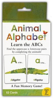 Animal Alphabet and Numbers Matching Game  -     By: Alex A. Lluch