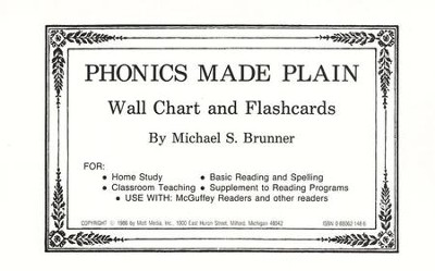 Phonics Made Plain: Flashcards   -     By: Brunner