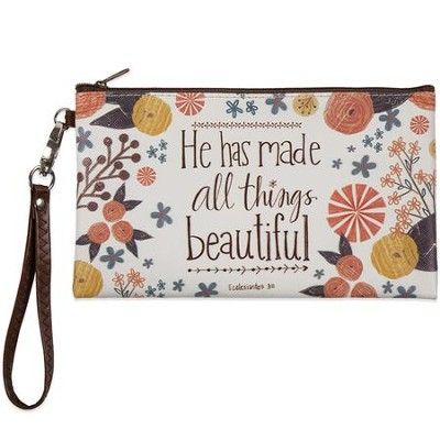 He Has Made All Things Beautiful Zippered Bag  -