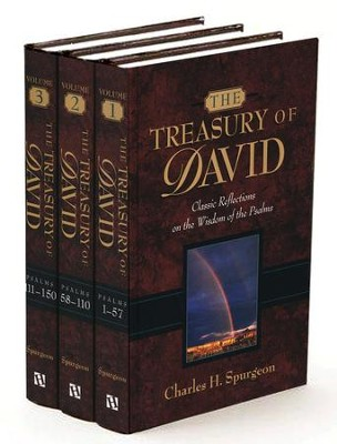 The Treasury of David, 3 Volumes   -     By: Charles H. Spurgeon