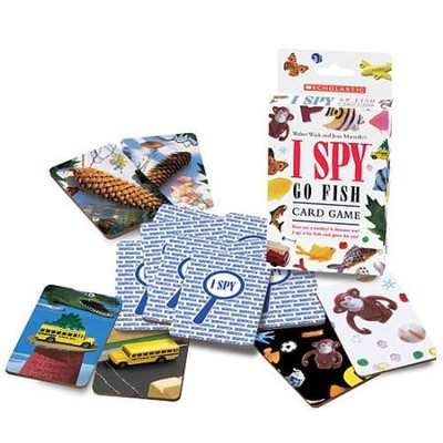 I SPY Go Fish Card Came  -