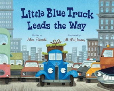 Little Blue Truck Leads the Way  -     By: Alice Schertle