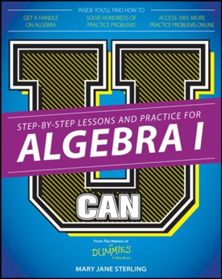 Algebra I Megabook For Dummies with Videos and Practice Problems Online  -