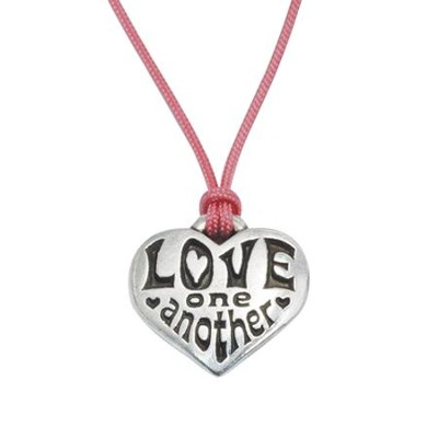 Love One Another Pendant, Operation Christmas Child  -