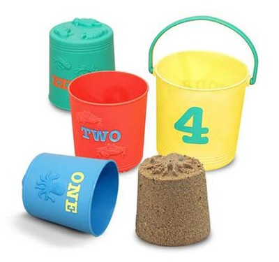 Seaside Sidekicks Nesting Pails  -