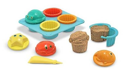 Seaside Sidekicks Sand Cupcake Set  -