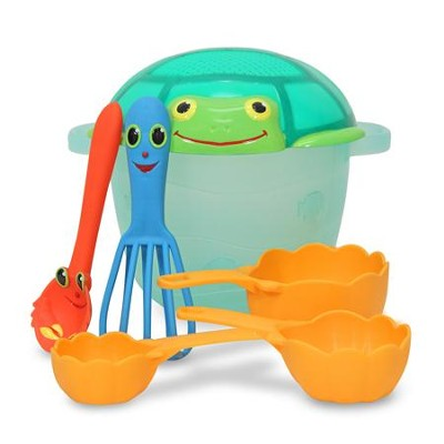 Seaside Sidekicks Sand Baking Set  -