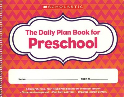 Daily Plan Book for Preschool 2nd Edition   -