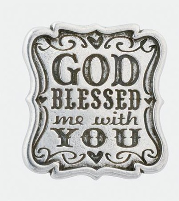 God Blessed Me With You Pocket Token  -