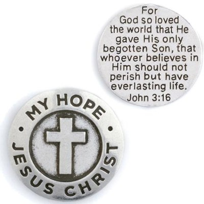 My Hope Jesus Christ Pocket Token  -