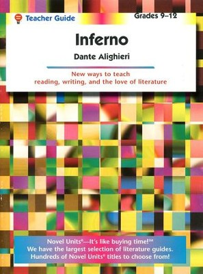Inferno, Novel Units Teacher Guide, Grades 9-12   -     By: Dante Alighieri