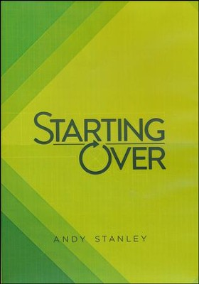 Starting Over DVD  -     By: Andy Stanley