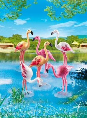 Playmobil Flock of Flamingos Accessory  -