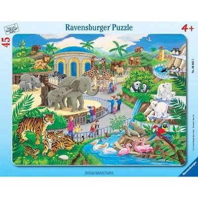 Visit to the Zoo, Frame Puzzle  -