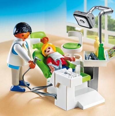 Playmobil Dentist With Patient Accessory  -