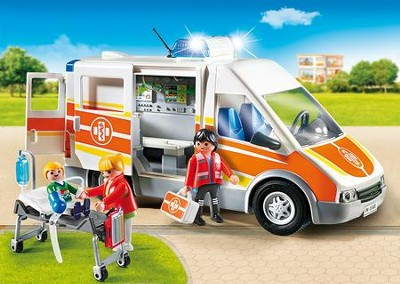 Playmobil Ambulance With Lights and Sound  -