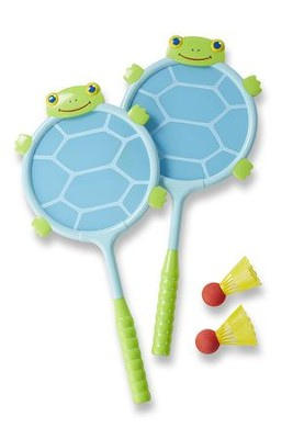 Dilly Dally Turtle Racquet & Ball Set  -