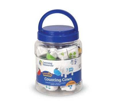 Snap-n-Learn Counting Cows, 20 Pieces  -