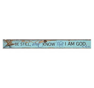 Be Still Nautical, Magnetic Strip  -