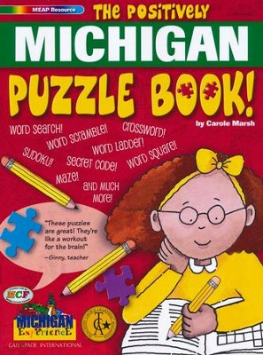 The Positively Michigan Puzzle Book  -     By: Carole Marsh