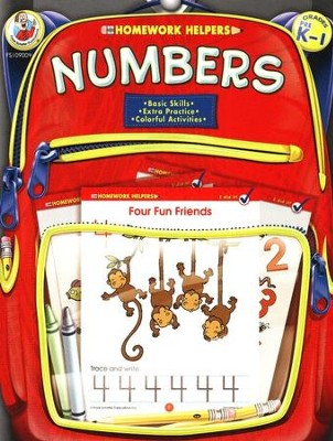 Numbers (PreK-1) Homework Helper  -