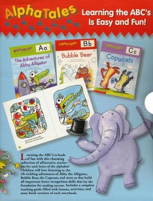 AlphaTales Box Set: A Set of 26 Alphabetical Animal Storybooks  -