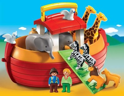 PLAYMOBIL ® My Take Along 1.2.3. Noah's Ark Playset   -