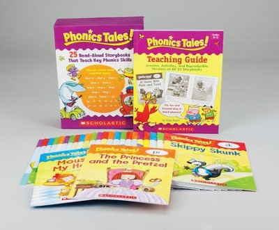 Phonics Tales! 25 Read-Aloud Storybooks That Teach Key Phonics Skills  -