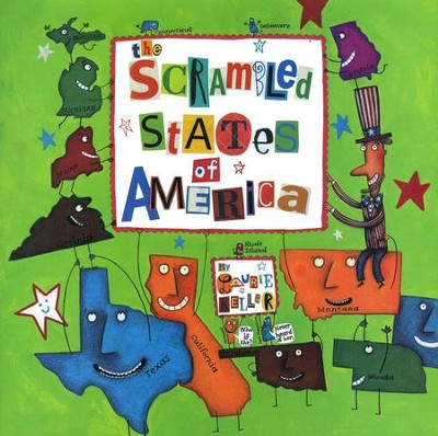 The Scrambled States of America, Softcover   -     By: Laurie Keller