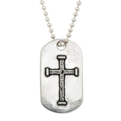 JCID, Iron Cross Tag Pendant  -