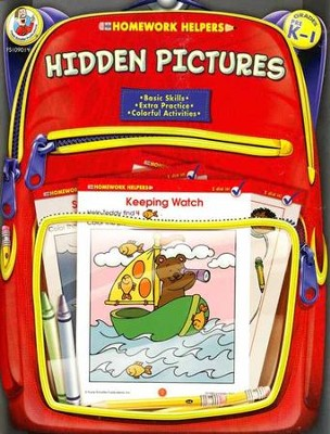 Hidden Pictures (PreK-1) Homework Helper  -