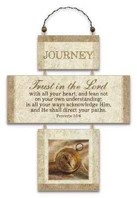 Journey, Cross Wall Plaque  -