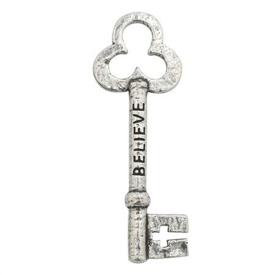 Believe Pocket Reminder - 100% Lead Free Pewter  -     By: Bob Siemon