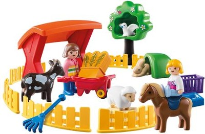 PlayMobil Petting Zoo  -