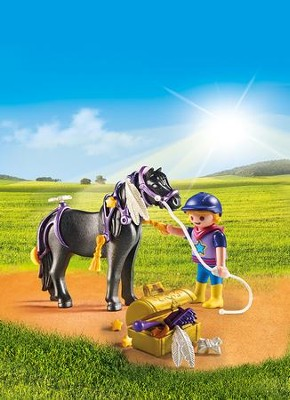 Playmobil Groomer With Star Pony Accessory  -