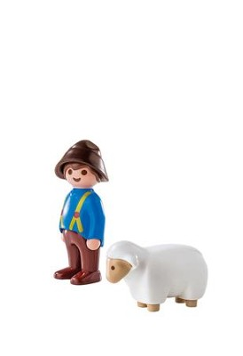 PlayMobil Shepherd with Sheep  -