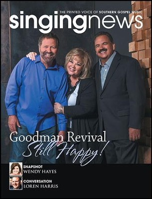 Singing News, 1 Year Magazine Subscription, International   -