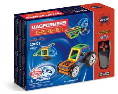 Magformers Funny Wheel, 20 Piece Set  -