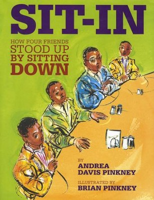 Sit-In: How Four Boys Stood Up By Sitting Down  -     By: Andrea Davis Pinkney     Illustrated By: Brian Pinkney