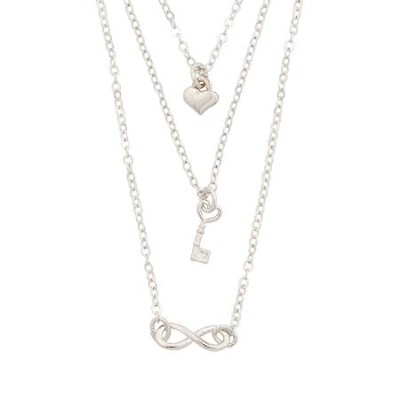 Layered, Infinity Necklace  -
