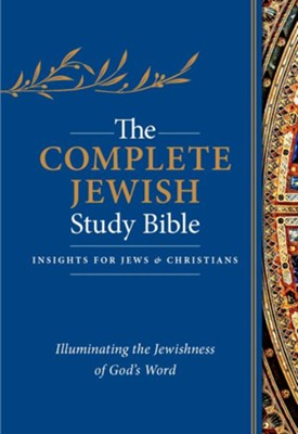 The Complete Jewish Study Bible, Flexisoft, Dark Blue, Thumb  Indexed  -