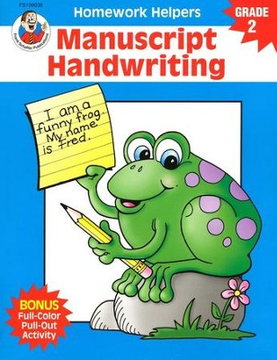 Manuscript Handwriting (2) Homework Helper   -