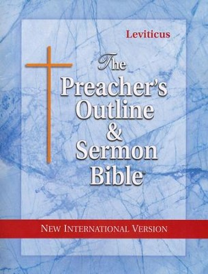 Leviticus [The Preacher's Outline & Sermon Bible, NIV]   -