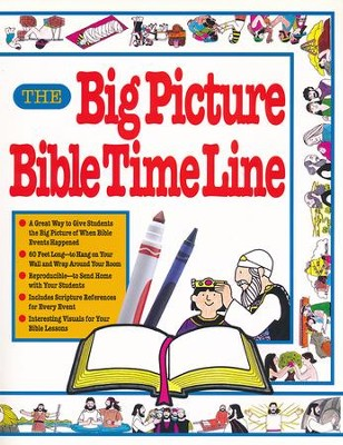 The Big Picture & Bible Time Line    -     Edited By: Carol Edie     By: Compiled by Carol Edie