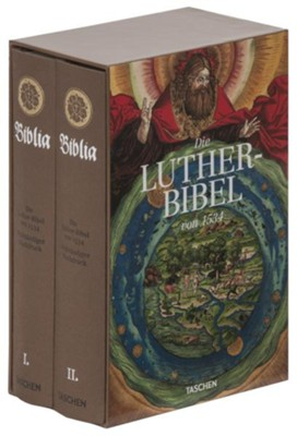 Lutherbibel 1534   -     By: Martin Luther, Lucas Cranach