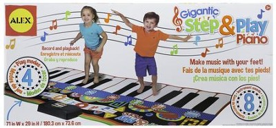 Gigantic Step and Play Piano   -