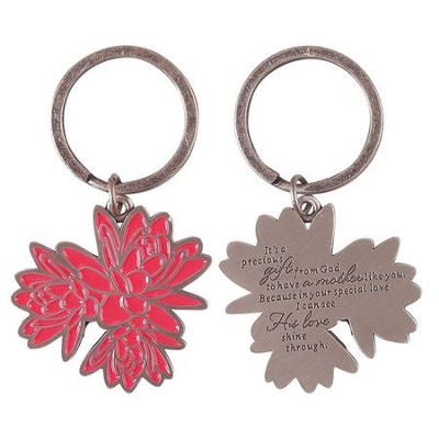Dear Mom, It's A Precious Gift From God, Keyring  -